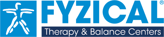 Large physical therapy and balance centers franchise logo