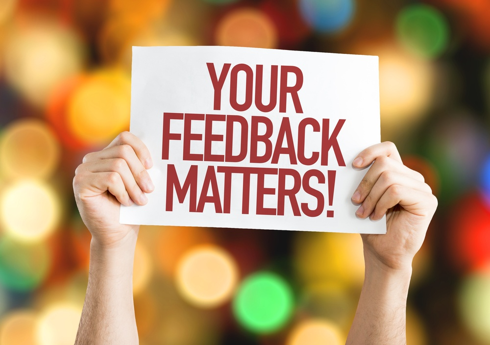 Your Feedback Matters placard with bokeh background.jpeg